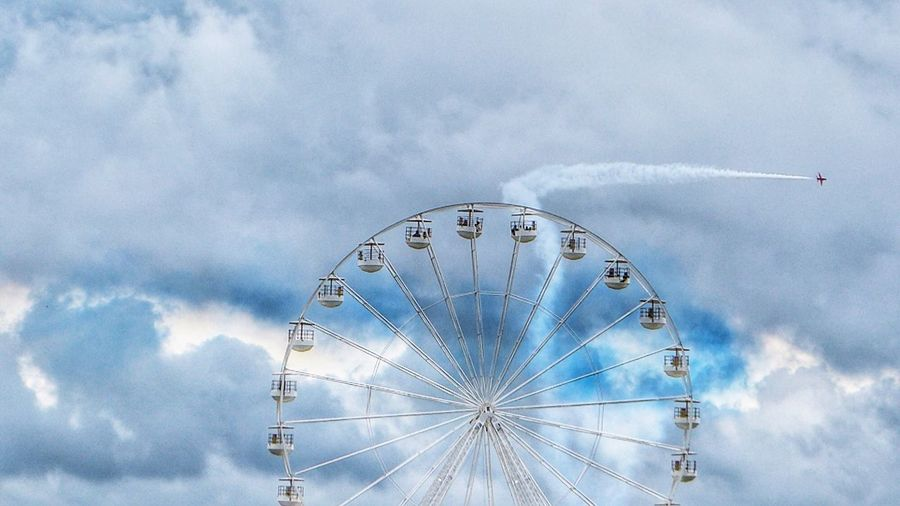 The wheel in the sky,Silverstone 2016 Taking Photos