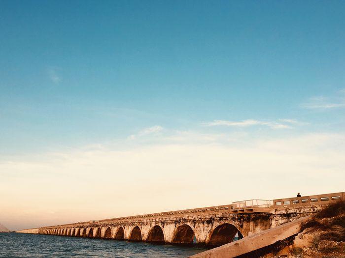 EyeEm Selects Sky Architecture Built Structure Bridge Bridge - Man Made Structure Connection
