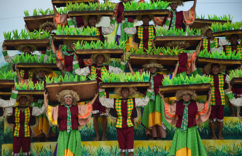 Cultural Show, where in different groups from different baranggays perform a dance showcasing their colourful way of life in Guimaras and are highlighting the very treasure of the island, the mangoes. What will set it apart from other tribe dances is it done in dance dramas. This 2016 Manggahan festival, I have witnessed how the young performers danced gracefully in their very colourful costumes and a lot of surprises. #colorful #festival #guimaras #manggahan #manggahanfestival #philippines #sweetsu #swet