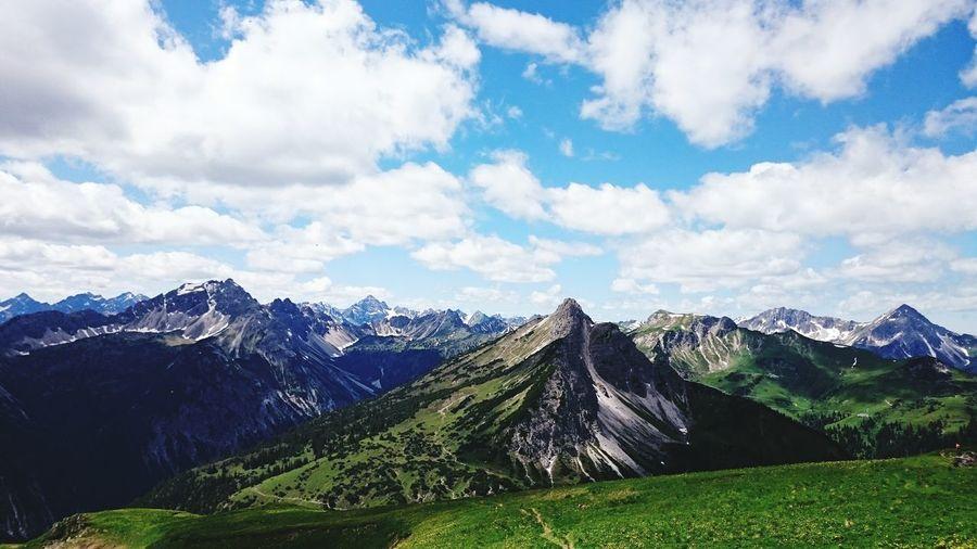 Freelance Life Enjoying Life it's hard in the mountains