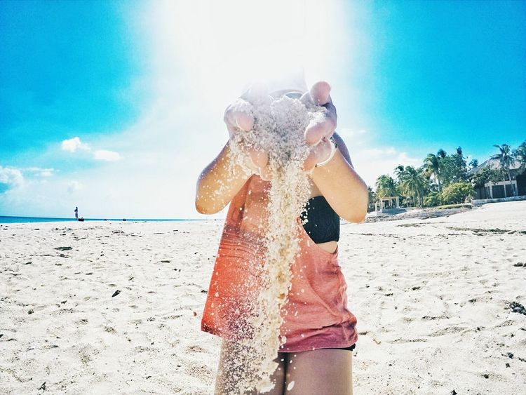 Philippines Beachphotography Sand & Sea MyEyemPhoto Beach Cloud - Sky Enjoyinglife uBeauty Is Everywhere  Philippine Islands