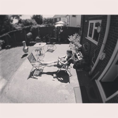 Chilling in the garden Selfie Gopro Goprohero3 Beahero camera photography photo willow