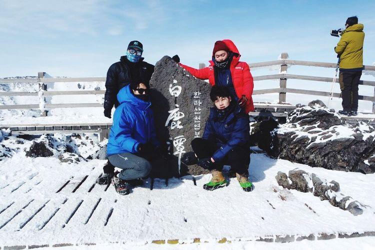 한라산  Hanra Mountain Top Of The Mountains Successful Lucky Day