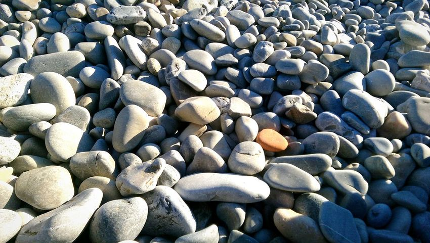 Pebbles in beach and a fab bright sunny summer like weather Pretty :) Vitamin D Naturesgift