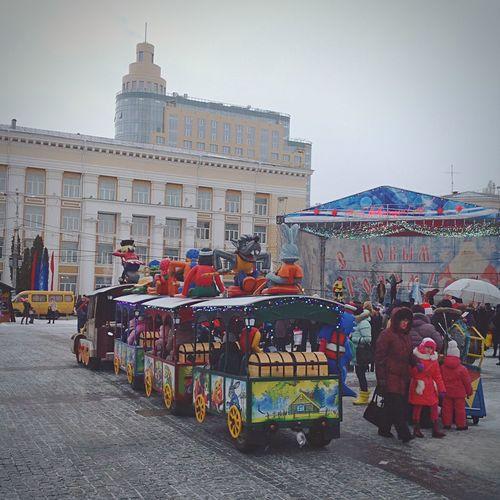 Voronezh square winter First Eyeem Photo