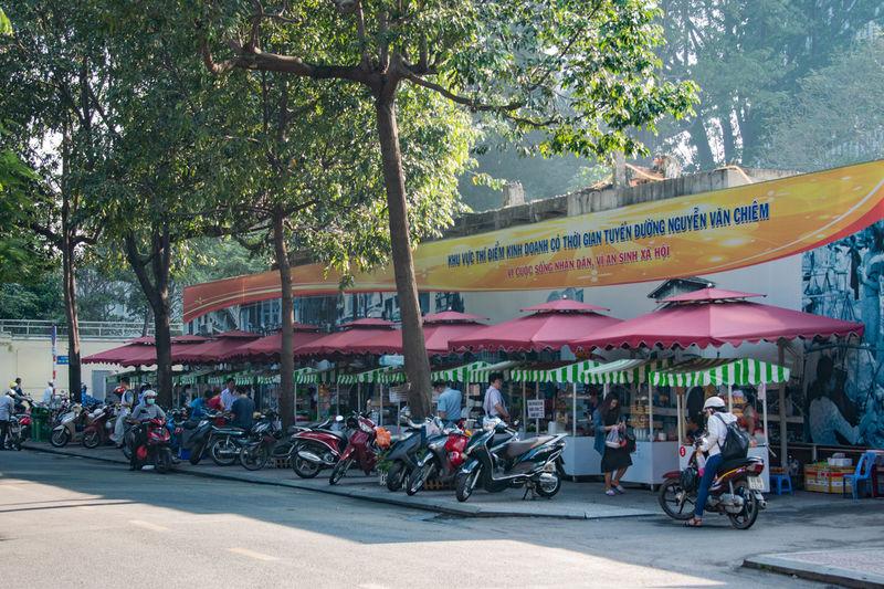 Ho Chi Minh City Morning Vietnam Morning Landscape ベトナムの朝