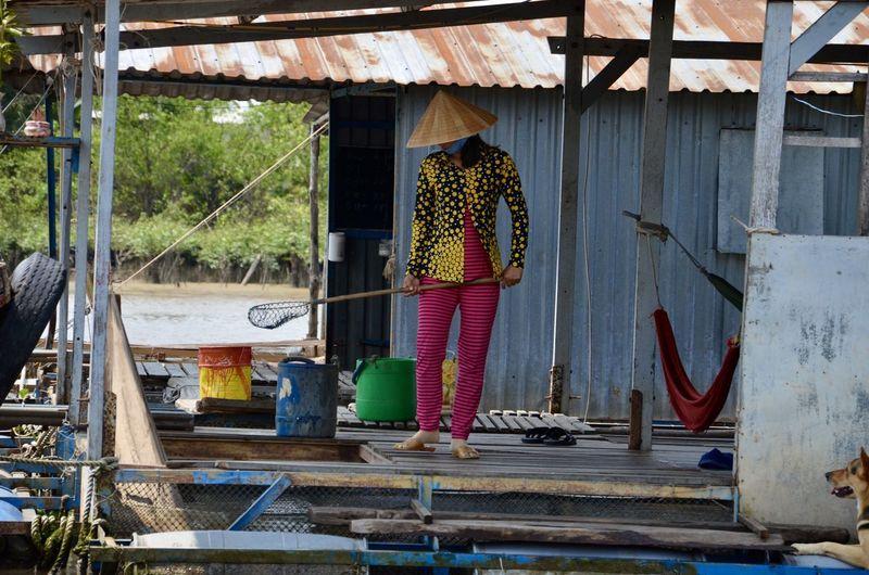 Mekong fish farm