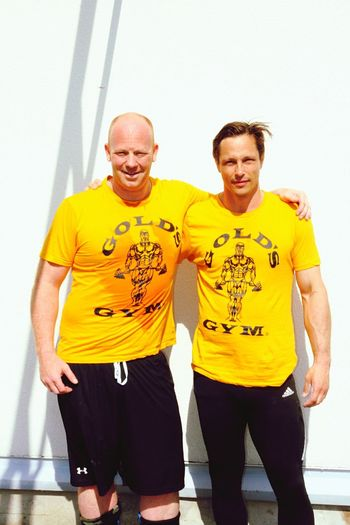 Team Old is Gold.. Maychallenge Crossfitmalmö GoldsGym 40withstyle