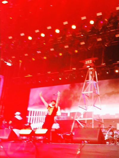 Eminem EyEmNewHere Event Red Lighting Equipment Music Nightlife Arts Culture And Entertainment Performance My Best Travel Photo