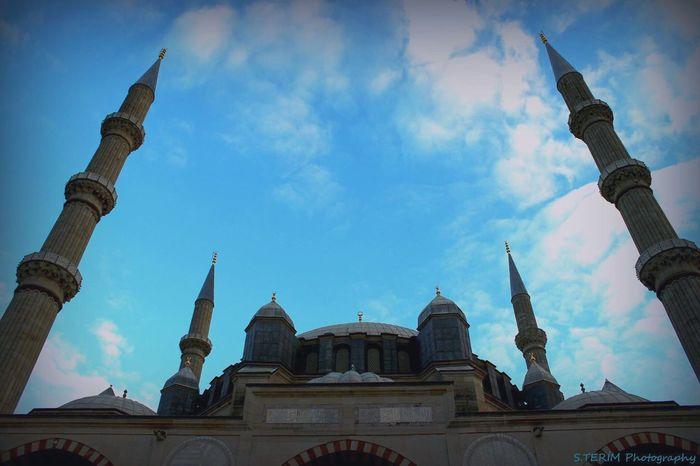 Edirne Selimiyecamii Trakya Guzellikleri Türkiye Canon 600D Kendi