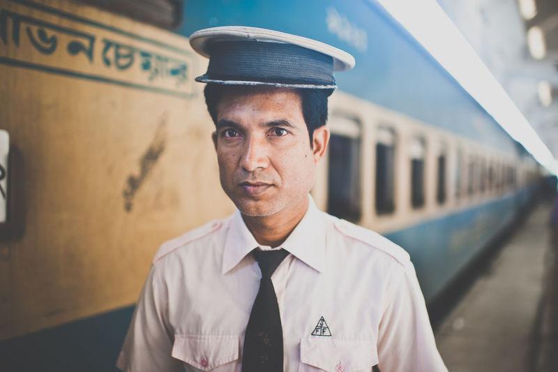train master. The Portraitist - 2014 EyeEm Awards Railway Portrait Bangladesh