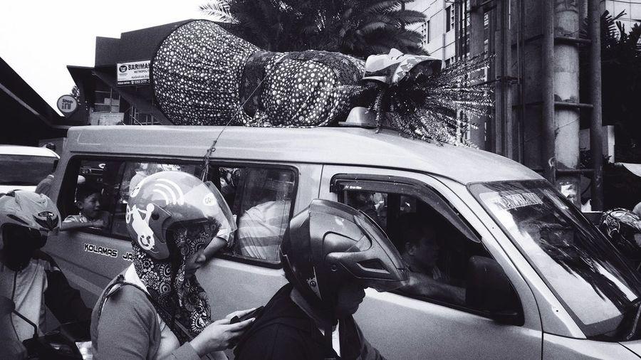 Jakarta's Ondel-Ondel Traditional Culture Of Indonesia Traditional Doll Traditional Symbols Jakarta Icon Ondel-ondel Street Photography Ramadhan Traffic Jam