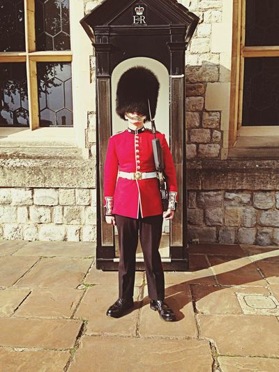 tower of london guards ?? Smile xx