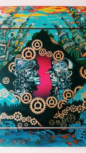 True love never dies even for robots👥Truelove Robotlove Robots HUMANITY No People Art, Drawing, Creativity Art ArtWork Photooftheday