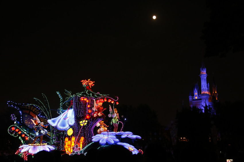 Tinkerbell 東京ディズニーランド (tokyo Disneyland) 東京ディズニーランド 東京ディズニーランドホテル Disneyland Disneyland Tokyo Disneyland Tokyo Resort Disneyland<3 Disneyland Castle Tokyo Disney Land Disneytokyo Disney Parade Japan Disneyparade Disney Castle Tokyo Disneyland DisneyCastle Tinkerbell Tinker Bell Disney Night Lights Arts Culture And Entertainment Celebration Performance Crowd City Black Background Sky