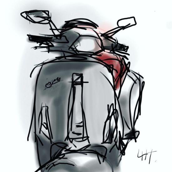New Vespa Thailand Vespa Piaggio Sprint150 My Sketch