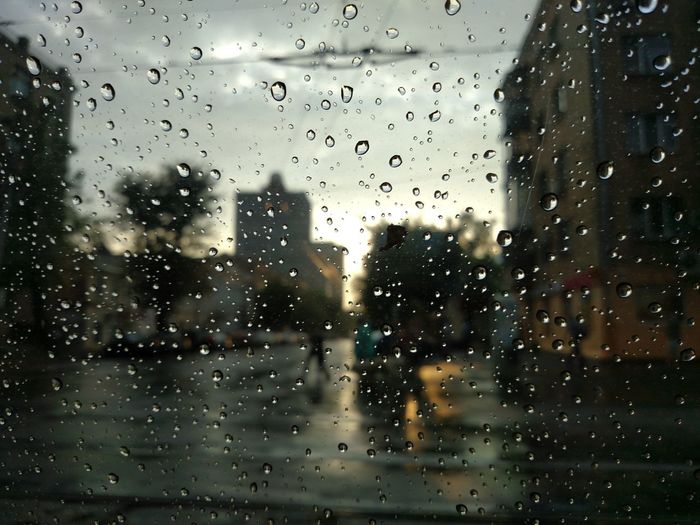 Rain Rainy Days Sunset Town Drops In A Car Nofilter Noedit