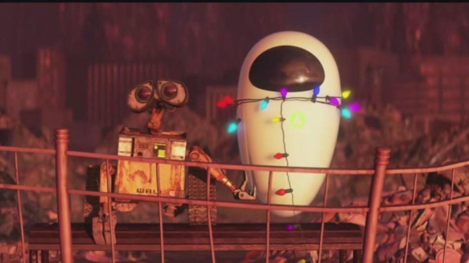 虽则你我被每颗星唾弃 我们贫乏却去到金禧 Wall-e