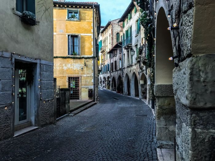 Asolo, Italy Asolo Cobblestone Streets Shotoniphone7 ShotOnIphone Architecture Building Exterior Built Structure Window Residential Building No People Outdoors