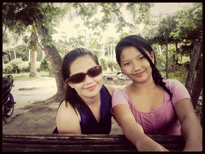 with my pamangkin @kaihse :) Enjoying The Sun ☀
