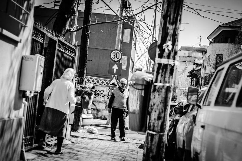 Streetblackandwh