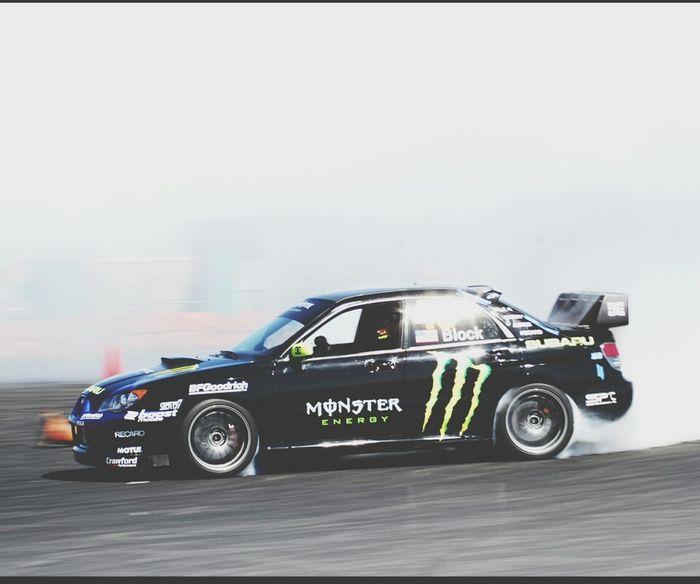 Ken Block Drifting Subaru Impreza Wrx STi ♥