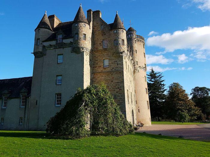 Fraser Castle Aberdeenshire 🏰 Castle Outdoors No People Architecture Building Exterior Scotlandpassion Scotland Wild Landscape EyeEm Best Shots Scotlandlover Eye4photography  Aberdeen,Scotland