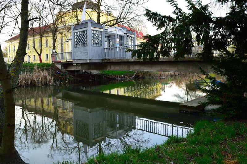 Booth Canal City Reflection Water Nikon D3300 Nikon Békéscsaba Békésmegye Hungary