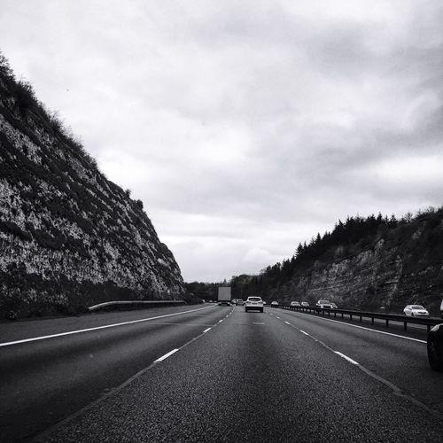 Road Roadtrip Road Scenery Buckinghamshire Motorway View Motorway