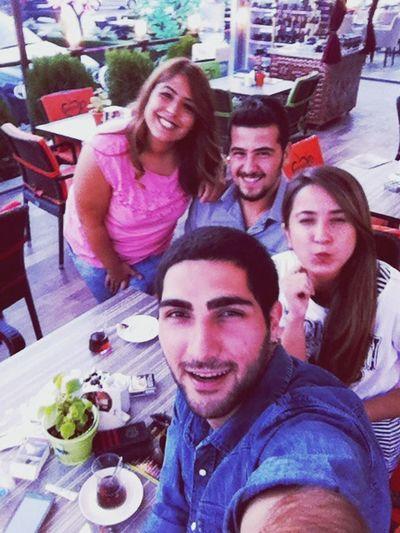 Meeting Friends Turkey