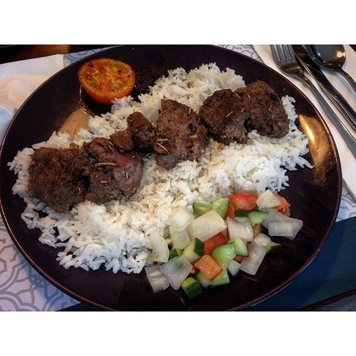 09/22/2015 Lunchtime Lunchout Lambkebabplate Sultanph sultangrillph