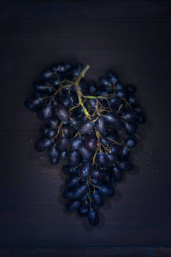 Grapes Blue Close Up Dark Background Food Food Still Life Foodphotography Fruits Grapes Indoors  Light And Shadow Sweet Table Wood - Material