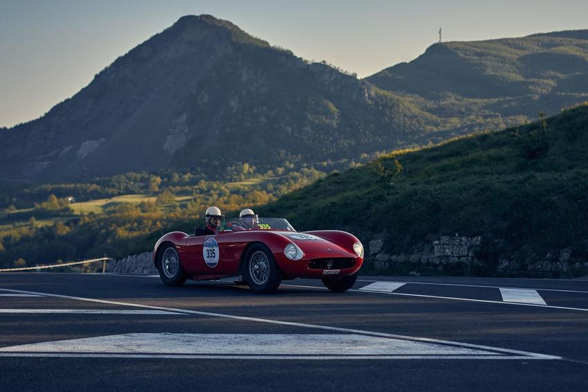 Classic Car Classic Cars Country Road Landscape Mille Miglia Mille Miglia 2016 Mountain Rally Vintage Cars MASERATI