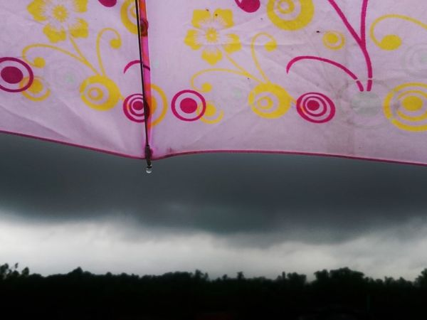 rain Day Multi Colored water Outdoors Sky No People