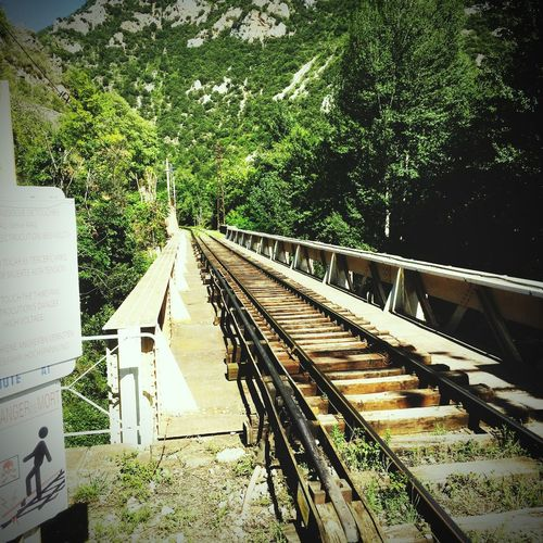 Taking Photos Train Travelling SudDeFrance Ballade Paysage