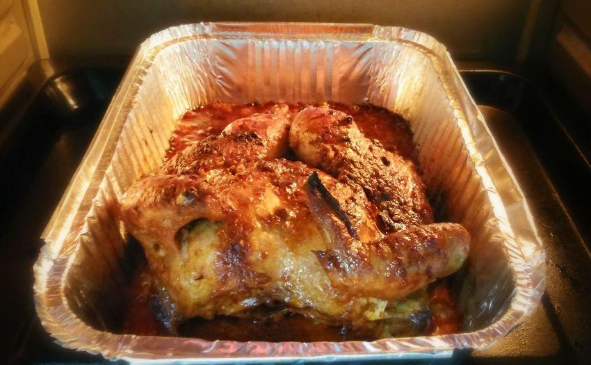 Almost ready, smells gooooood.... Grilled Chicken Ovenbake Chicken Chicken Foodphotography
