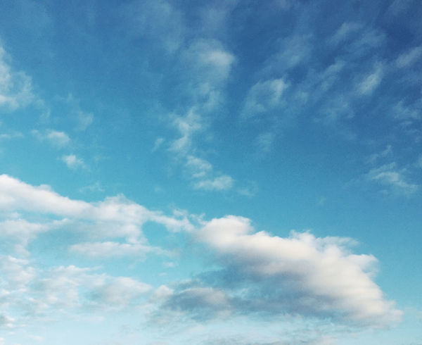 Sky of Goring By Sea Cloud - Sky Sky Low Angle View Beauty In Nature Tranquility Blue Scenics - Nature Nature No People Day Tranquil Scene Backgrounds Outdoors Idyllic Full Frame White Color Sunlight Heaven Meteorology Wispy Cloud Clouds Gradient Graduated Sky Gradiented Sky