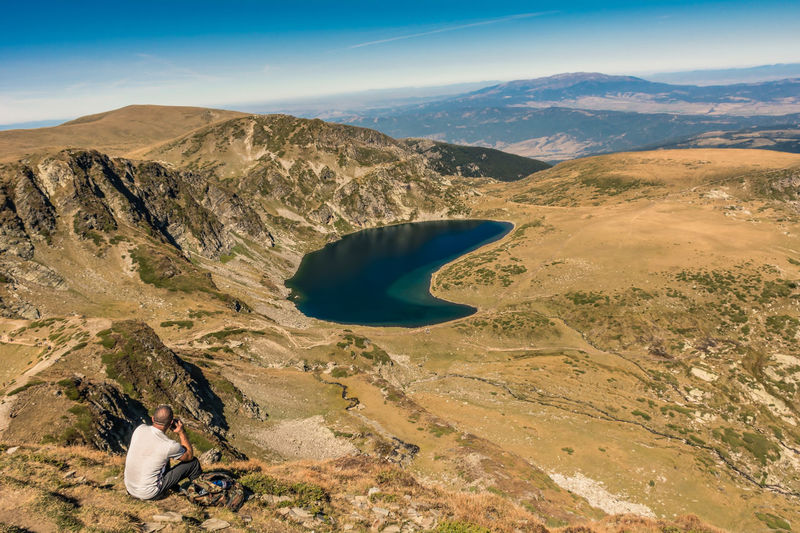 Seven rila lakes, rila mountain, bulgaria the kidney lake