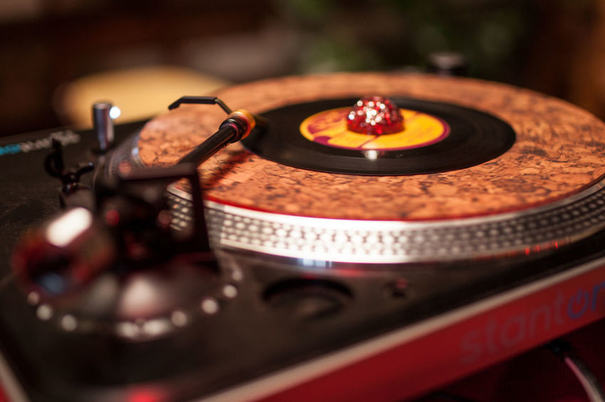 Dj Antique Arts Culture And Entertainment Close-up Floral Pattern Focus On Foreground Indoors  Music Nightlife No People Nostalgia Number Old Photography Themes Record Retro Styled Selective Focus Spinning Still Life Studio Shot Technology Turntable