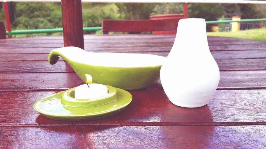 ABA-crockery- Loza Crockery Design Green For Dessert