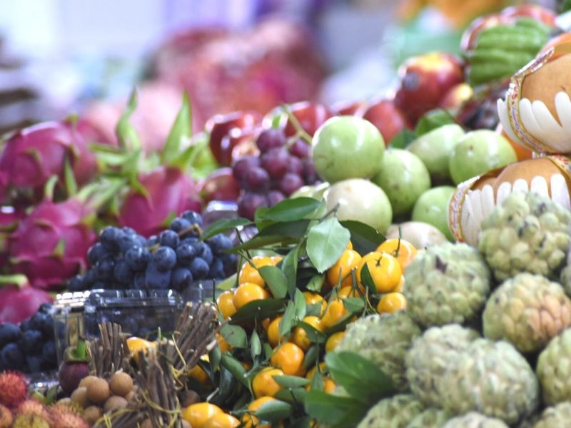 Colorful Food Outdoors Freshness Day Abundance No People Healthy Eating Market Fruit Close-up Nature Choice