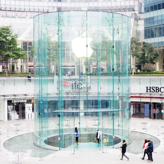 applestore。 Apple City 陆家嘴 上海