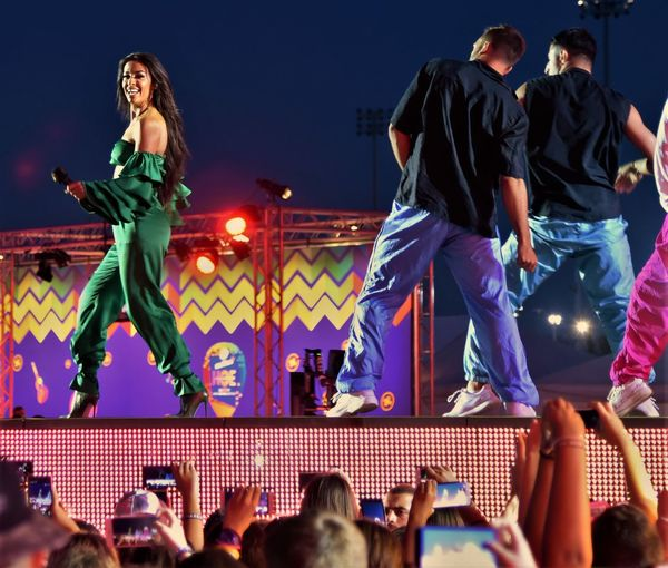 Amita Motion Live Concert Hellena Foureira Arts Culture And Entertainment Audience Crowd Enjoyment EyeEm First Photo Illuminated Large Group Of People Leisure Activity Lifestyles Men Night Outdoors People Real People Sky Spectator Standing Togetherness Women