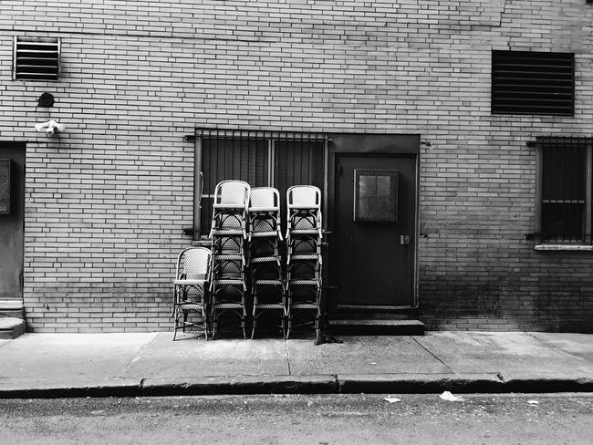 Philadelphia Chairs Streetphotography Street IPSPatterns Iphoneonly IPhoneography Blackandwhite Black And White Street Photography
