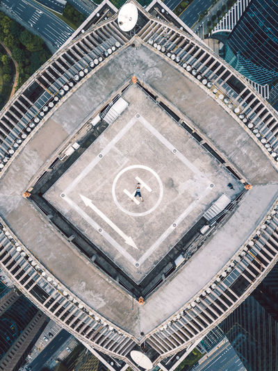 DJI Mavic Pro Shanghai, China Architecture D Ji Day High Angle View No People Sport