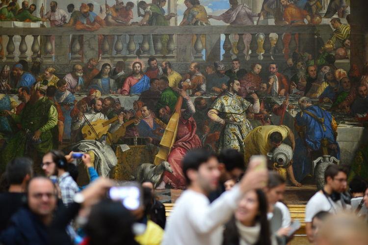 Louvre #1 Louvre Paris Crowd Large Group Of People Museum Painting Art Spectator