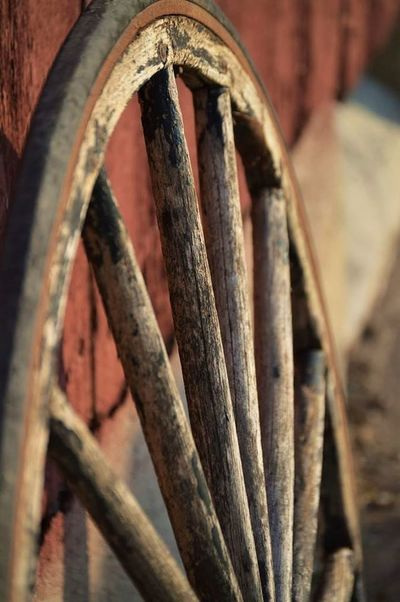 Country Living Barnlove Country Life Closeup Deapth Of Field Wheel Spokes Wagon Wheel Old Wooden Wheels Outdoors Outdoors Photograpghy  Sunset Barn Red Barn Love