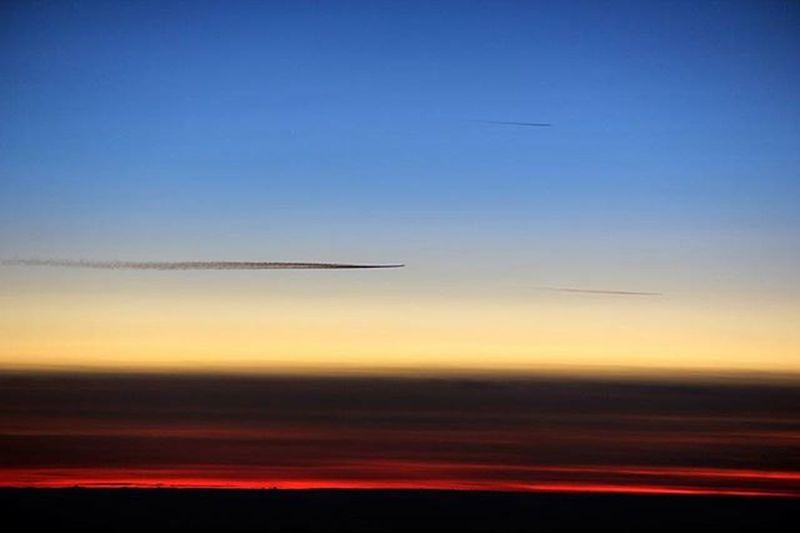 Dallaereo Windowplane Ngaaereo Sky Cielo Qiell Tramonto Sunset Perendim Aereo