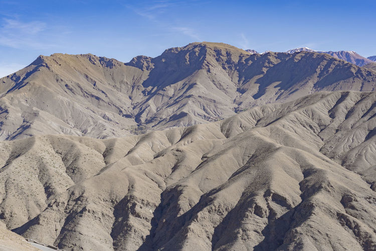 Mountain Sky Environment Landscape Mountain Range Nature No People Physical Geography Day Sunlight Land Remote Geology Rock Arid Climate Formation Rugged Arid Arid Landscape Mountain Peak Lines And Shapes Lines Mountainous Atlas Mountains Morocco