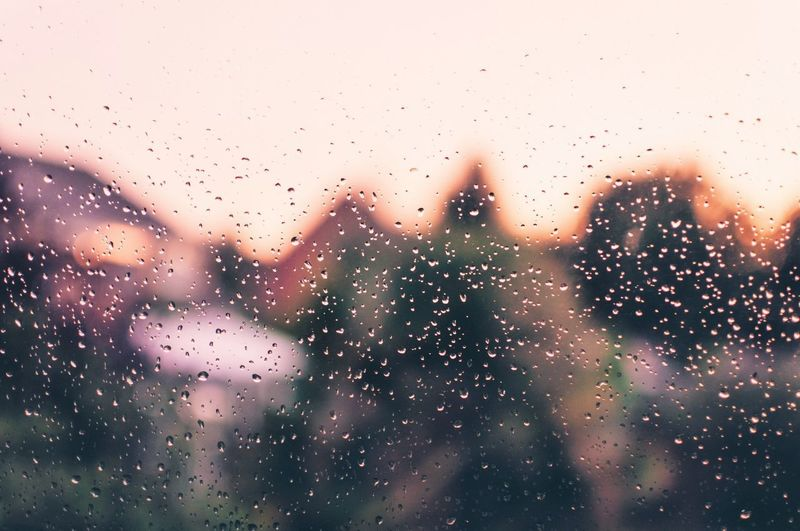 Raindrops Bokeh